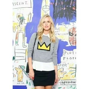 Alice + Olivia Sweaters - 🎀SOLD🎀Alice Olivia Basquiat Nikia Crown Sweater